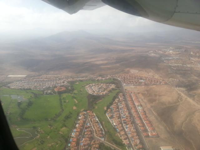 Přílet na Fuerteventura