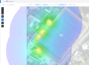 Ubiquiti UniFi Case Study: Pokrytí stadionu v Hradci Králové