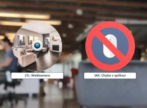 Postřehy z bezpečnosti: Hacknutí webkamery na notebooku