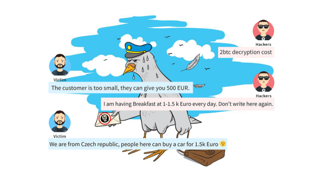 Jak vypadá vyjednávání o výkupném u ransomware