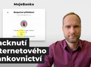 Přednáška: Hacknutí internetového bankovnictví