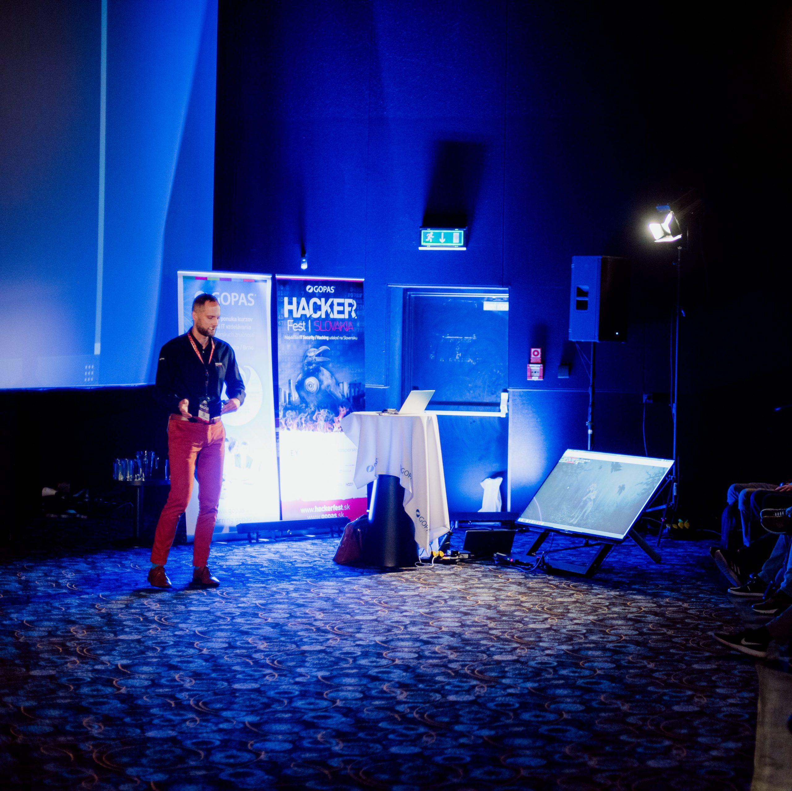 Martin Haller na HackerFest2019
